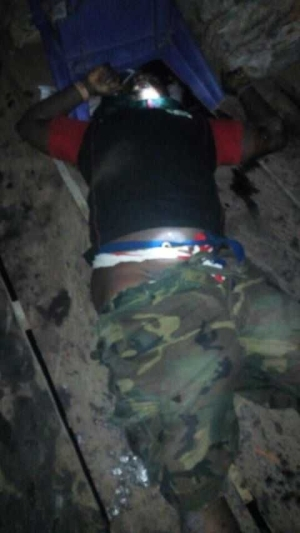 Notorious Militant Leader, Ossy Ibori Meets His Waterloo In Ondo State. Graphic [Photos]